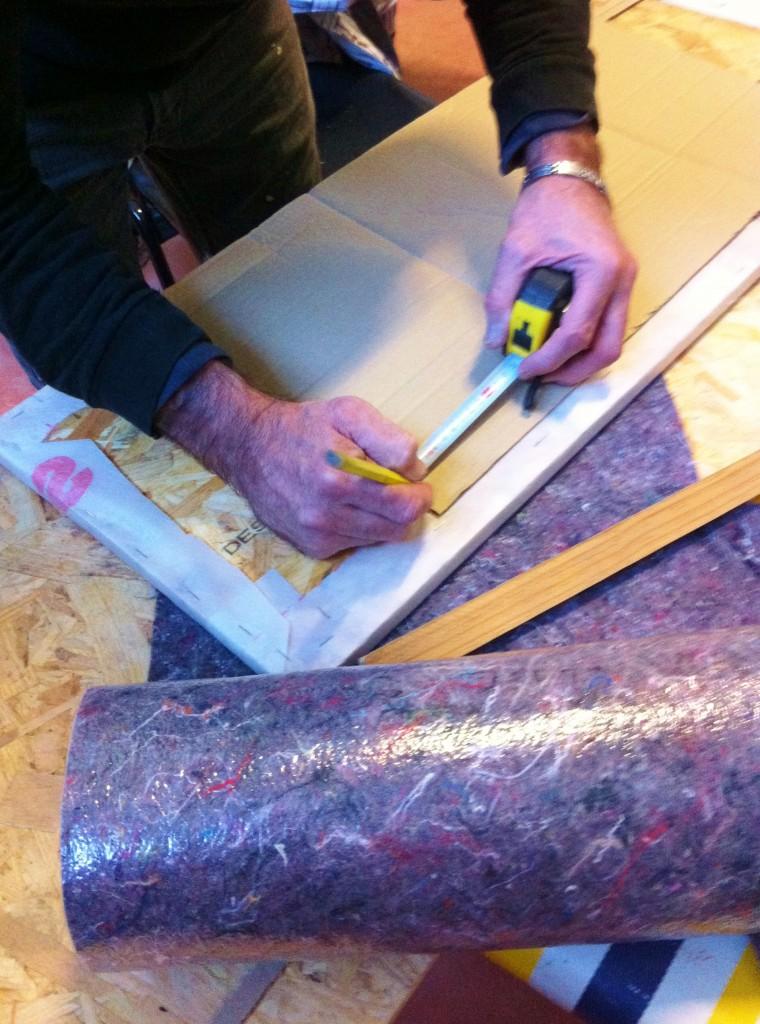 Fabriquer un paravent thermique pour s'isoler d'une  paroi froide.